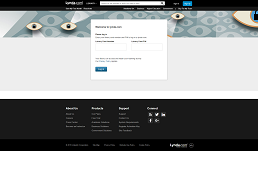 screenshot of lynda.com home page