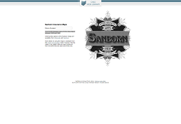 screenshot of Sanborn Fire Insurance Maps homepage