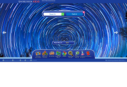 screenshot of worldbook kids homepage